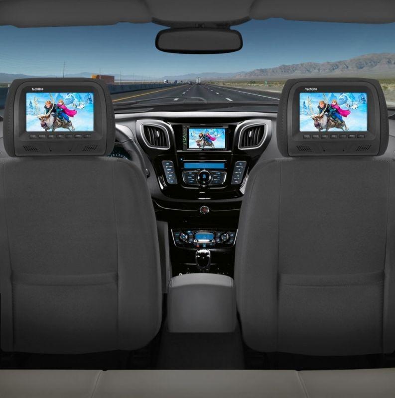 DVD para Carro Quanto Custa em Média em Moema - DVD Automotivo