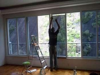 Películas de Proteção Solar de Janela Residencial na Anália Franco - Película Predial