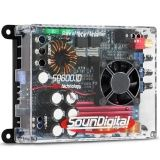 Módulo amplificador para som na Cidade Jardim