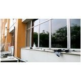Película de proteção solar de janelas no Aeroporto