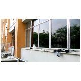Película de proteção solar de janelas no Ibirapuera