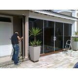 Película solar de casas na Casa Verde