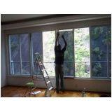 Películas de proteção solar de janela residencial na Anália Franco